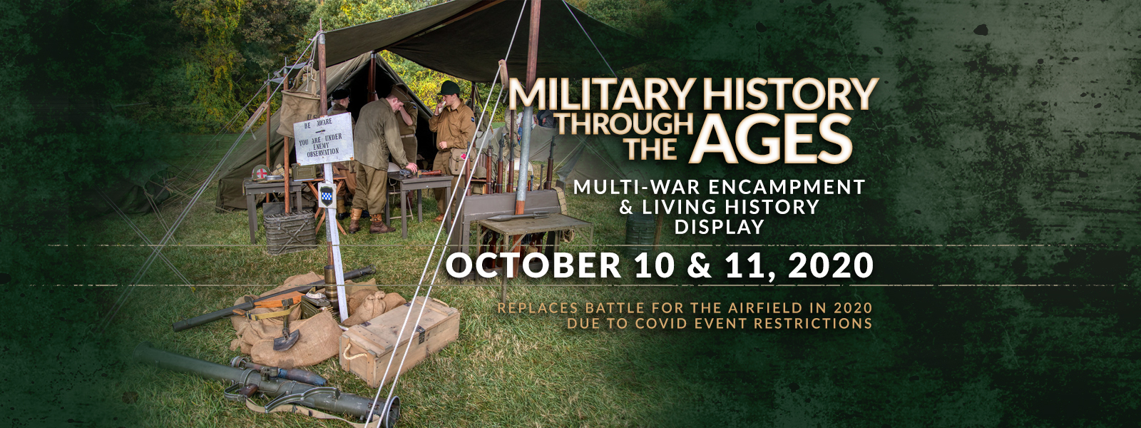Military History Through the Ages - October 10-11, 2020